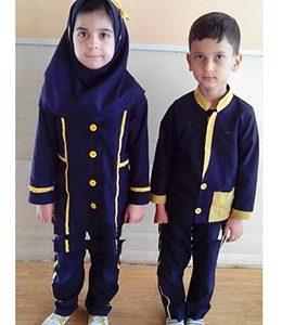تولید کننده لباس فرم مدارس با قیمت مناسب مانتو شلوار مدرسه دخترانه پسرانه ابتدایی راهنمایی دبیرستان