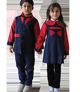 دوخت روپوش پیش دبستانی لباس فرم مهد کودک قیمت مناسب